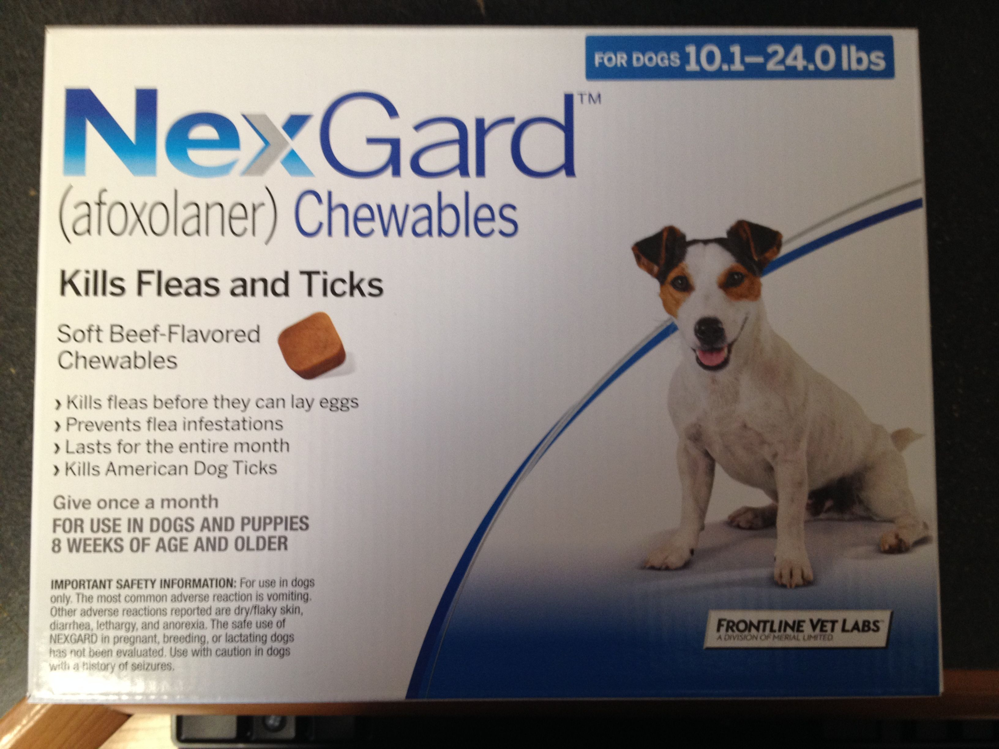 NexGardThe only chewable flea and tick prevention! Lyme