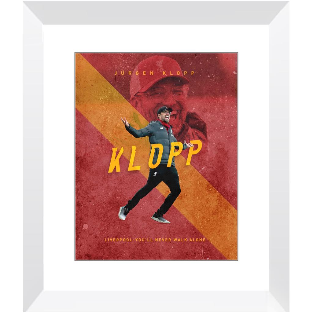 Jürgen Klopp – 11×14″ / White