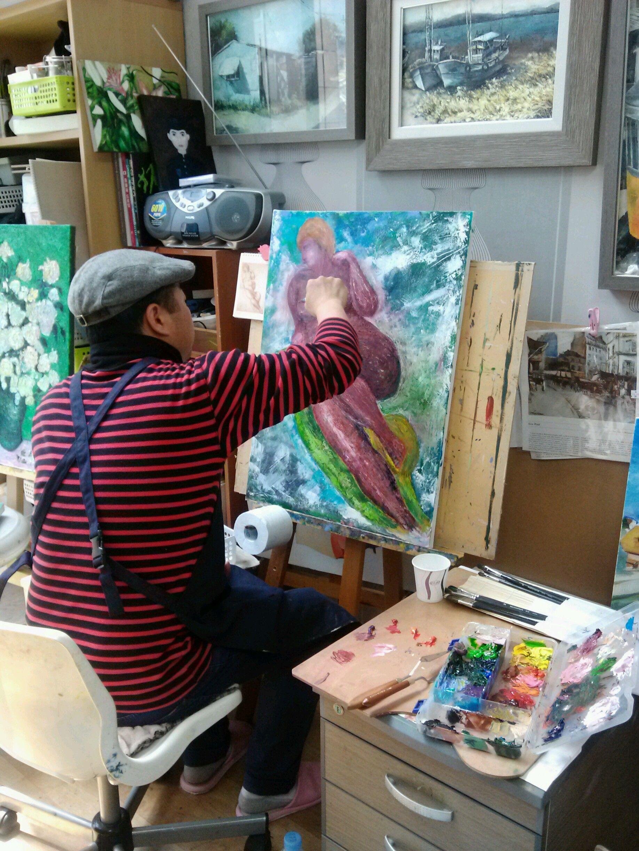 painting class : 2013 썸머 전시회를 준비하며