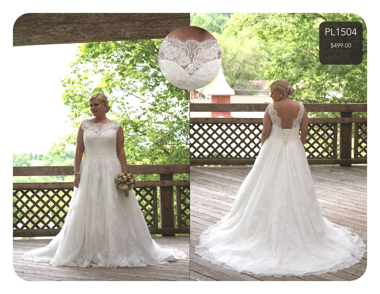 Plus Size Bridal with Sydney's Closet wedding