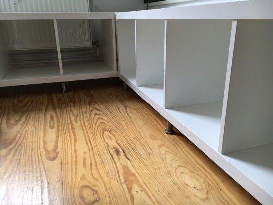 IKEA Kallax Kitchen Corner Seating | ~*Farmhouse (New) Style ...