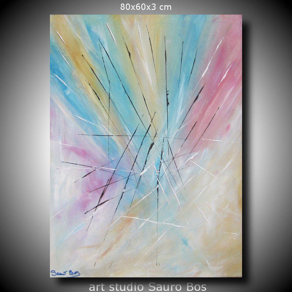 quadro astratto su tela - quadri dipinti Sauro Bos | quadri astratti ...