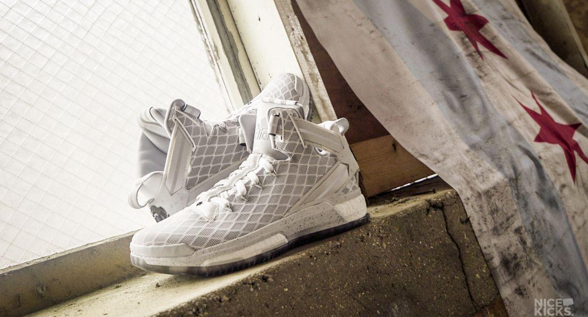 adidas d rose 6 boost on feet