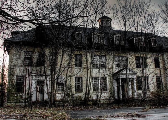 #abandoned Rosewood near Washington DC - used to be a mental facility.