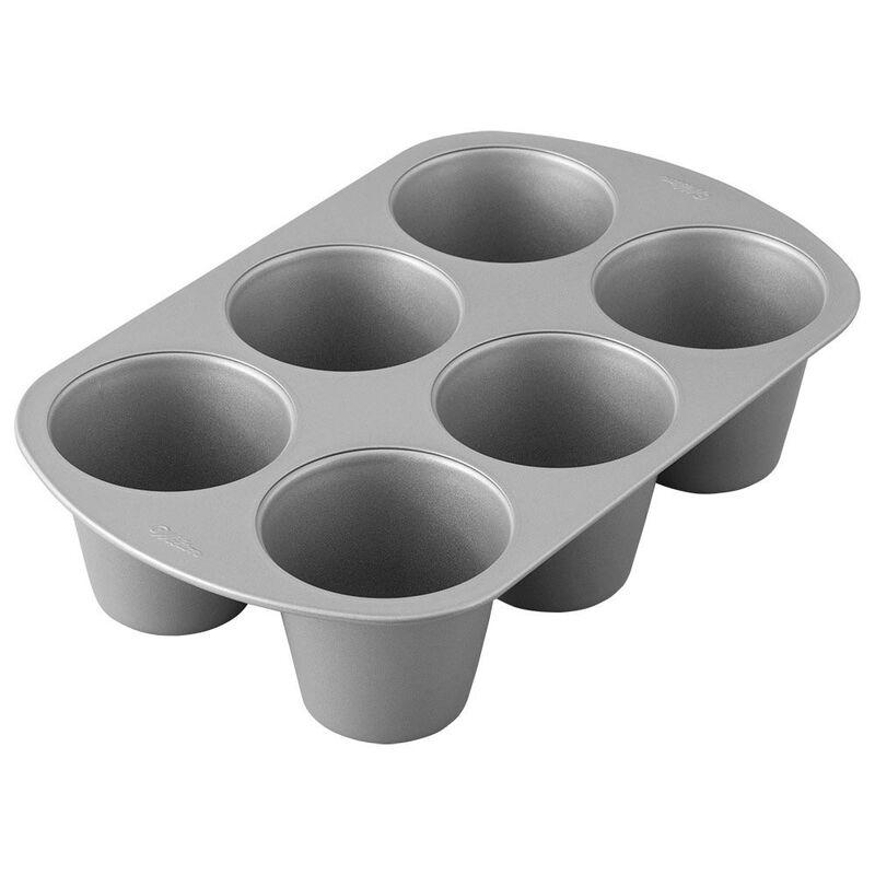 giant cupcake pan 6 cup jumbo muffin and cupcake pan in 2020 jumbo muffins jumbo muffin pans cupcake pan pinterest