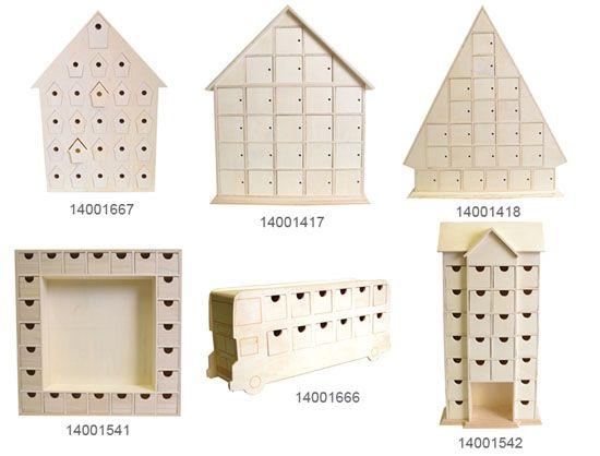 blog: calendrier de l'avent en bois   artemio créateur d'idées