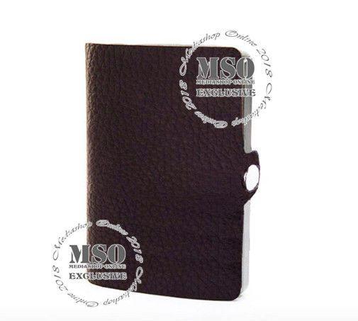 d9fcc3926a CLIP Porta Carte Di Credito e Banconote Portafoglio Uomo Marrone Scuro ID I-