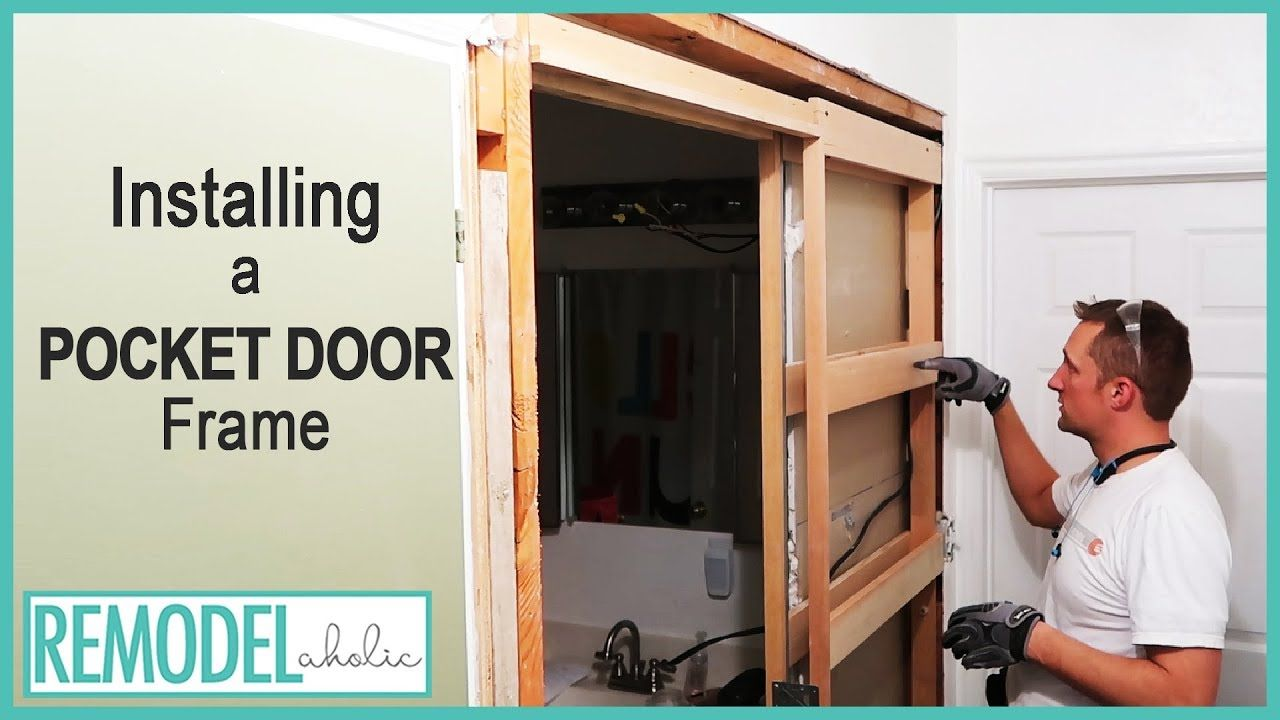 Installing a Pocket Door Frame in an Existing Wall