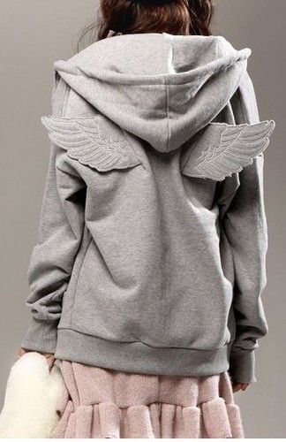 b4d5c58c46 Angel Wing Hoodie, Jeremy Scott/Adidas | Style | Hooded sweater ...