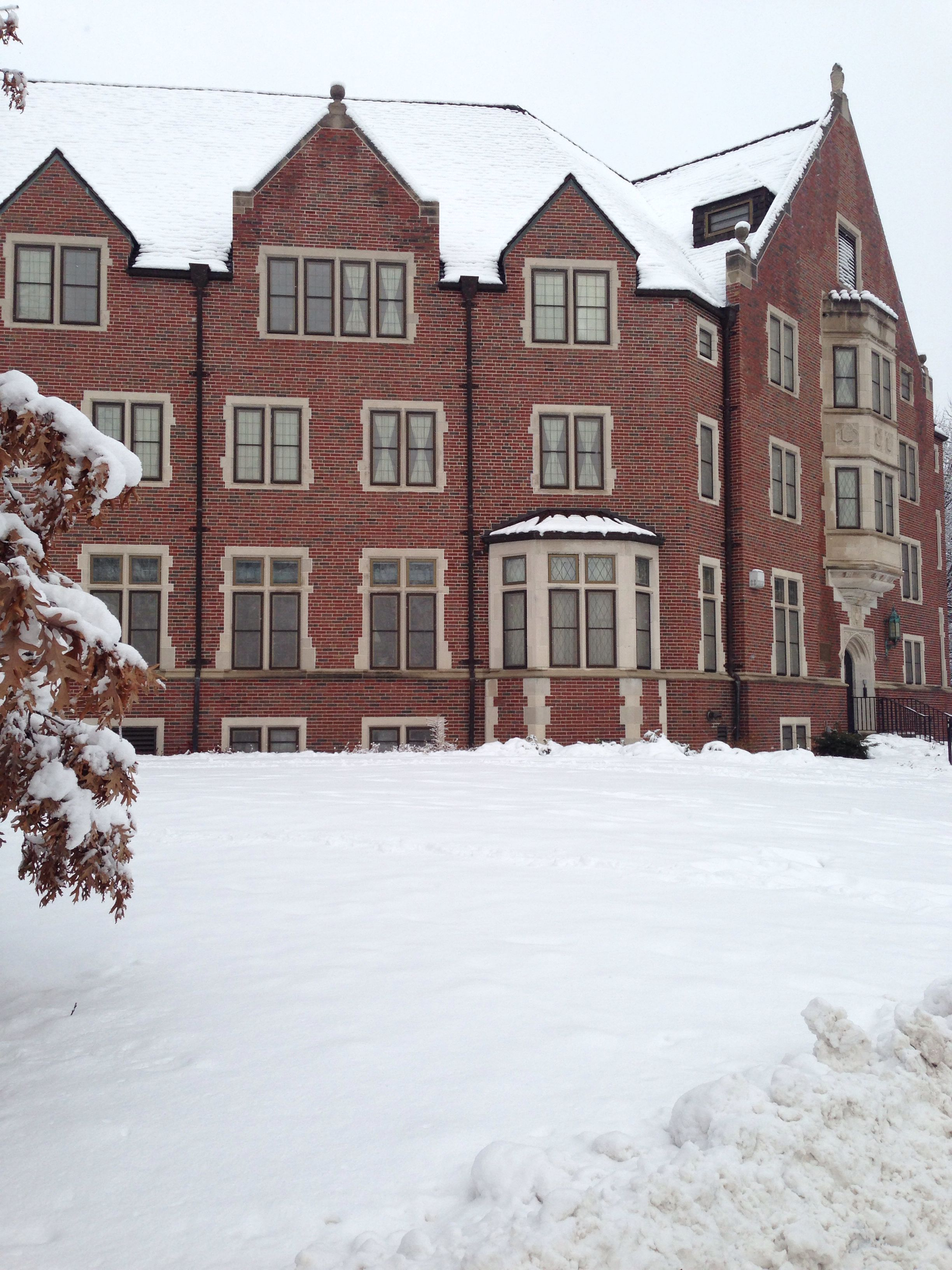 Windsor Hall Winter Wonderland My Castle My Home Away From Home Purdue University Purdue Home Again