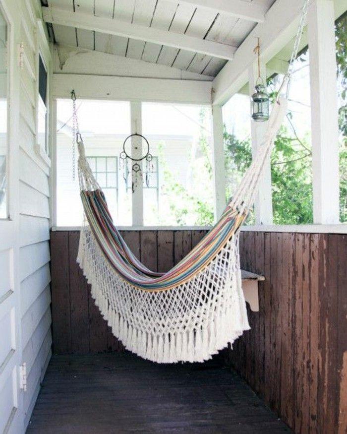 h ngematte auf dem balkon urlaub zu hause gartenm bel wundersch ne ideen. Black Bedroom Furniture Sets. Home Design Ideas