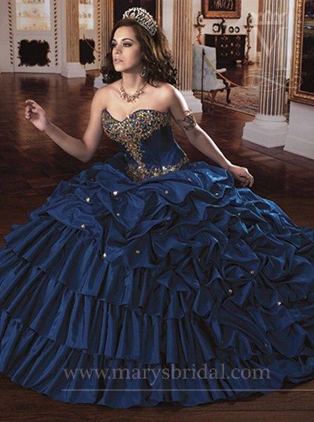 quinceanera court dresses 2013 | ... Beading Quinceanera Dresses ...