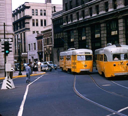 Baltimore Transit Co PULLMAN PCC CARS