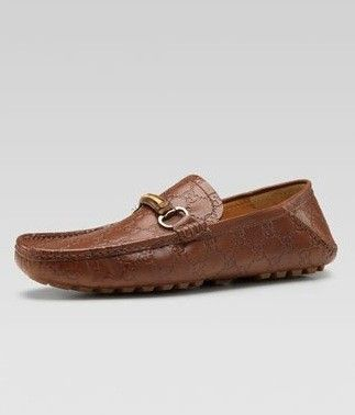 815b36274c8 Diva-Dealz - GUCCI mens Shoes Mocs Loafers GUCCISSIMA Drivers Bamboo Bit  Brown 6.5 7.5