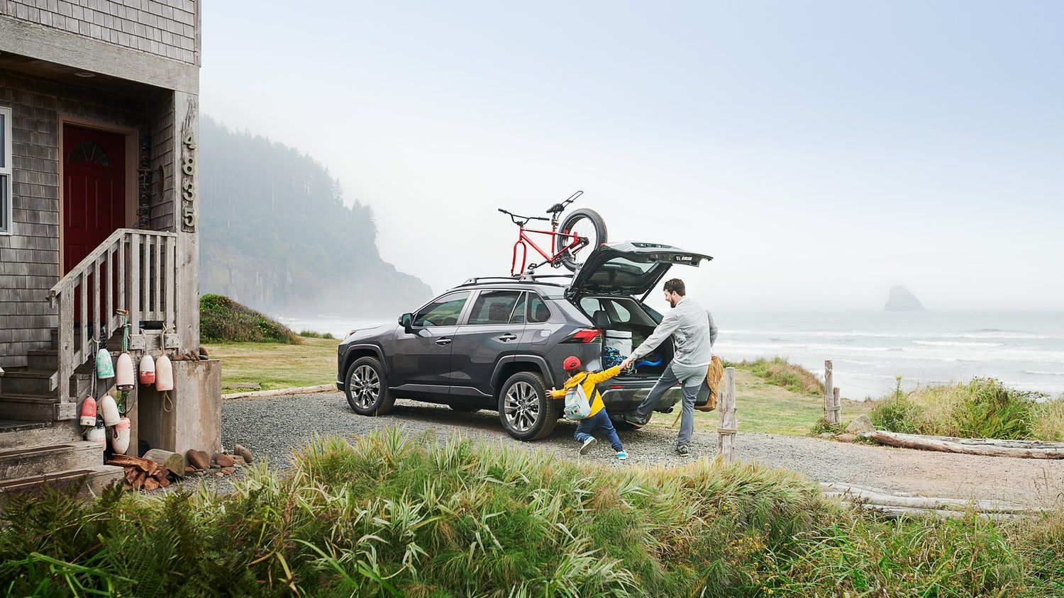 View 2019 Toyota RAV4 interior photos plus RAV4 exterior photos, and get ready to conquer more than the commute.