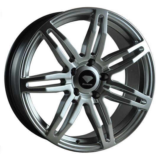 DIAMOND SC7 SILVER alloy wheels at http://www.turrifftyres.co.uk/alloywheels #alloy #wheels #rims #mag #cars #DIAMOND #SC7 #SILVER