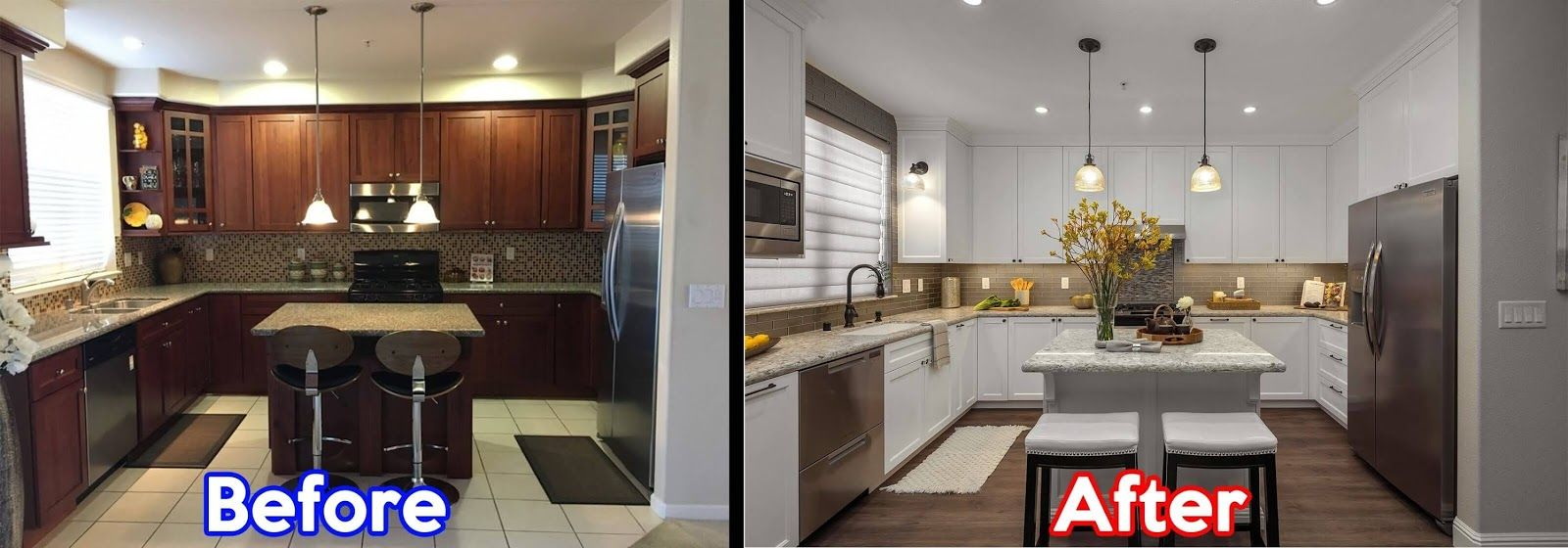 Before And After Open Townhouse Kitchen Remodel In San Francisco