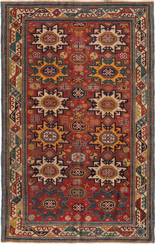 Lesghi Shirwan N Kaukasus Um 1900 137x205 Cm Ft 4 5x6 8 Halilar Hali Kilim