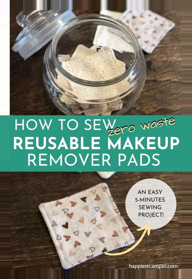 DIY diy crafts to sell homemade projects makeup pads