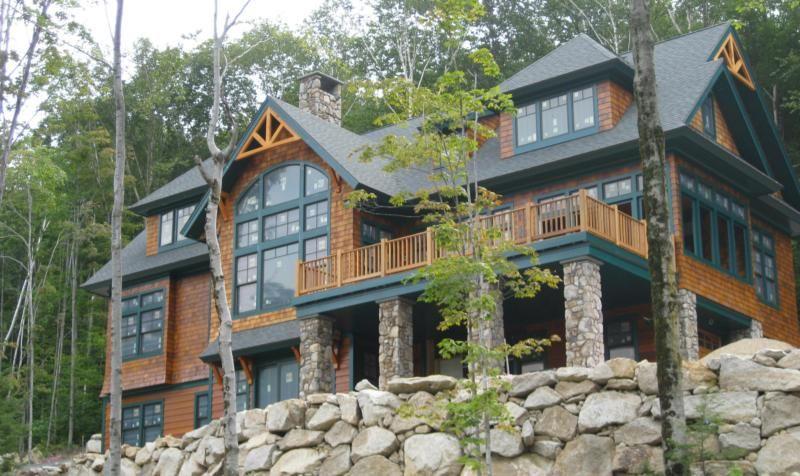 Adirondack Style Home Lake Houses Exterior Cabin Style Homes Modern Adirondack