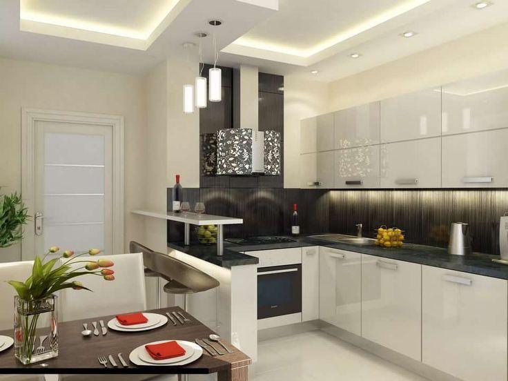 Pin de andrea ibarra en hogar cocinas modernas cocinas for Cocinas modernas apartamentos pequenos