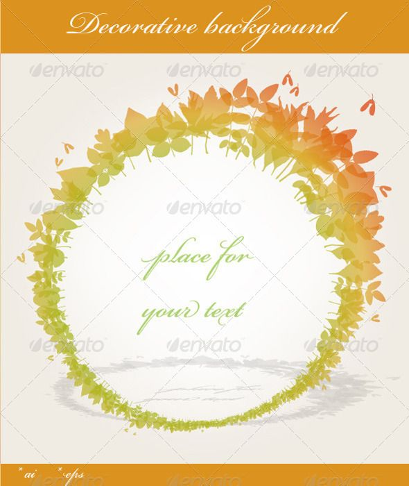 fall background graphicriver decorative colorful fall themed