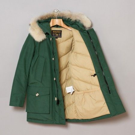 Woolrich Arctic Parka Df Kelly Green Oi Polloi ファッションアイデア ファッション