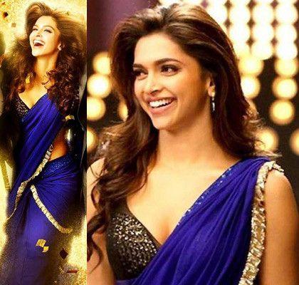 How Deepika Padukone wears her saree! (mit Bildern ...