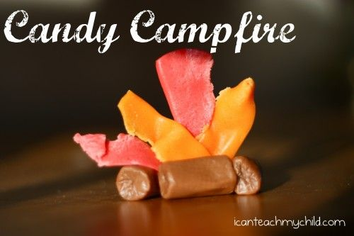 Candy Campfire!