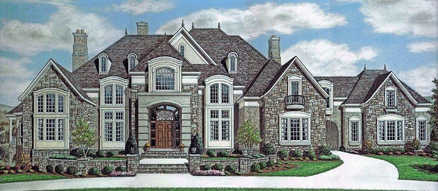 Stone Crest Manor Stephen Davis Home Design house