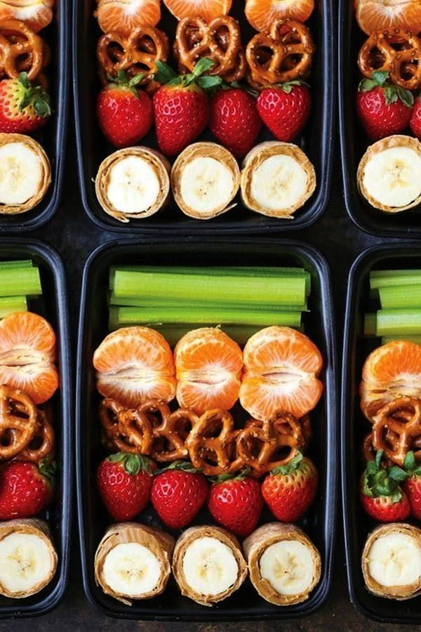 AND BANANA ROLL-UPS SNACK BOX. A Month of Meal-Prep Kids' Lunches for Every Day of September PEAN