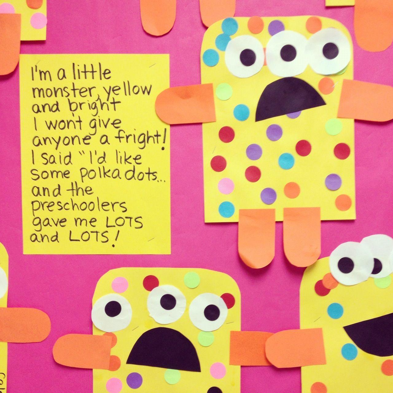 Preschool Monsters