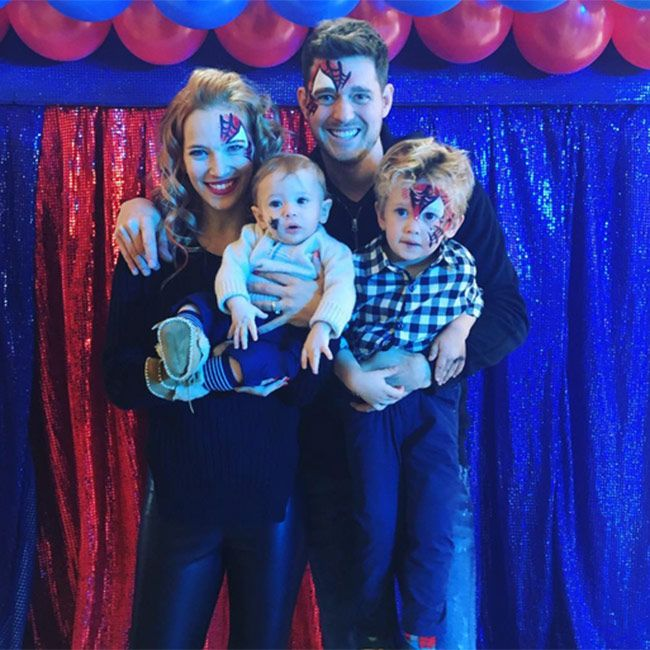 Michael Buble's Oldest Son, Noah Diagnosed with Cancer. Your in my thoughts and prayers