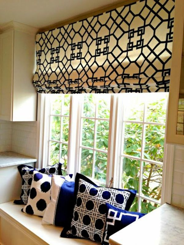 fensterrollo selber n hen n hen pinterest fensterrollo selber n hen und raffrollo selber. Black Bedroom Furniture Sets. Home Design Ideas