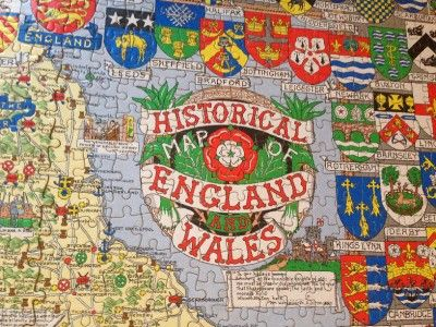 Map Of England In 1500.Details About Historical Map Of England And Wales 1500 Jigsaw Puzzle