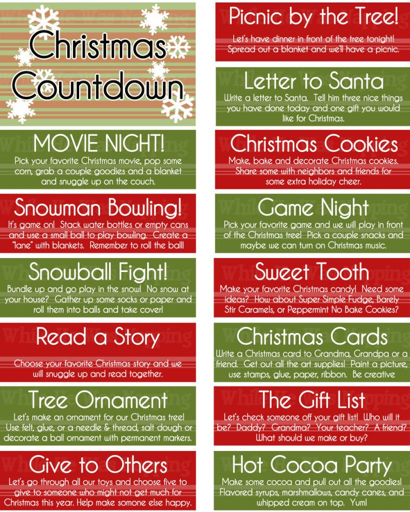 Wonderful Christmas Countdown Gift Ideas Part - 11: Boredom Jar Or Advent Christmas Countdown Jar