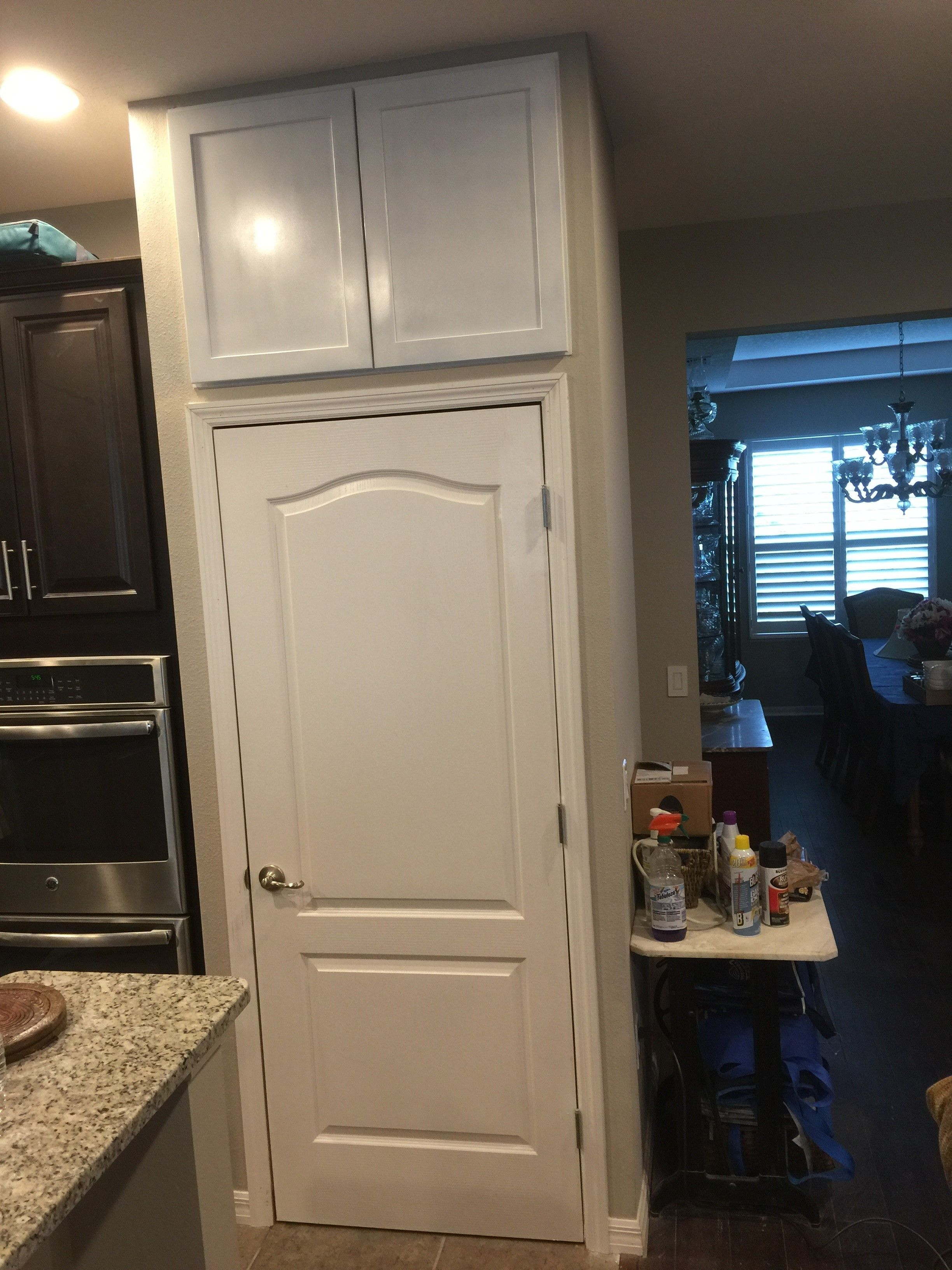 Storage Above Pantry Complete Home Decor Furniture Decor
