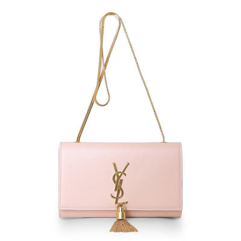 f01dbef0c58 YSL Pink Leather Clutch with Metal Tassel | The dirty craze shhhh ...