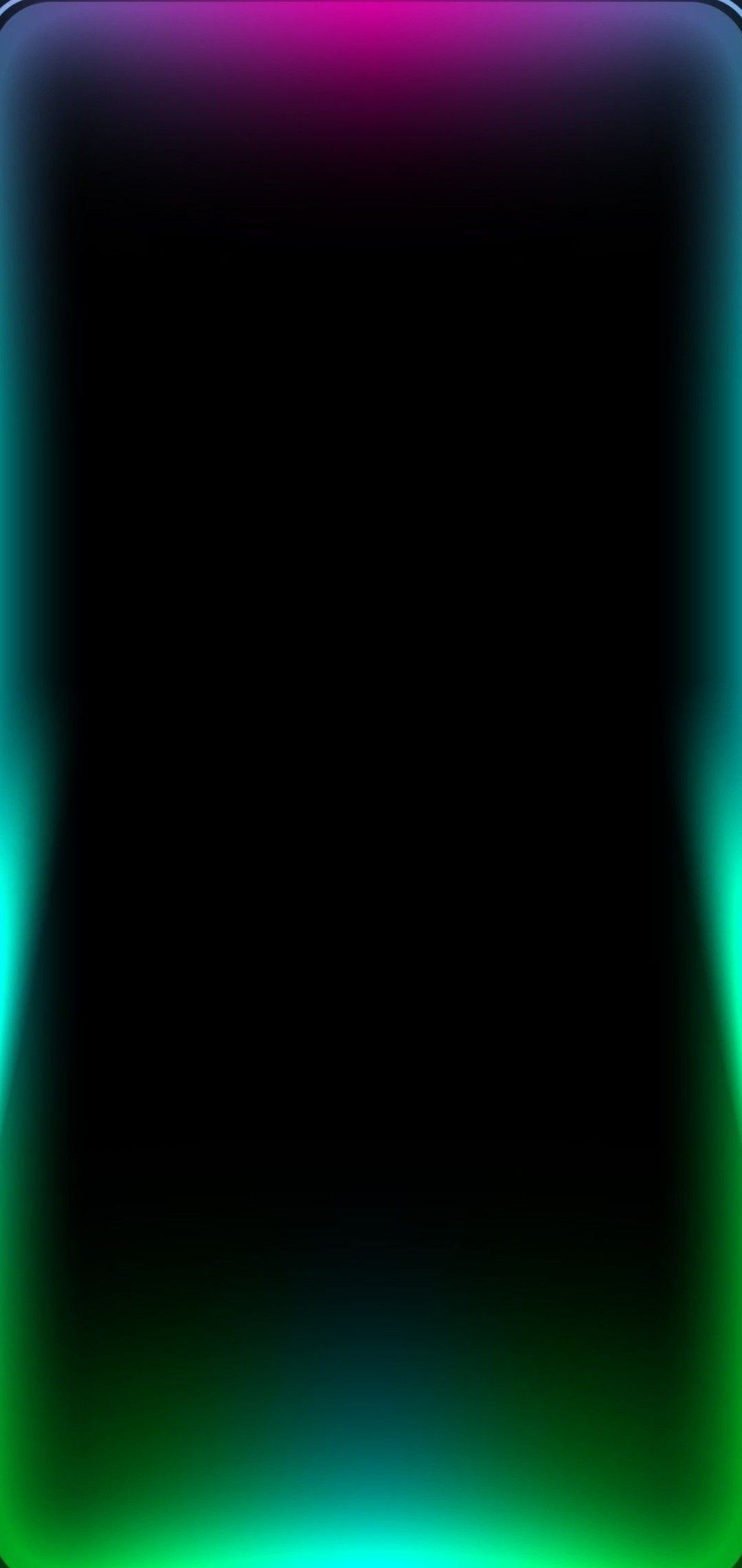Frame Border Rainbow Light For 1080x2280 Wallpaper Phone Wallpaper Patterns Abstract Iphone Wallpaper Neon Wallpaper