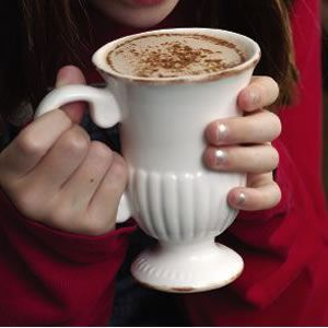 Our hot cocoa is rich and chocolaty without the overly sweet taste of some packaged mixes. Try this instead of dessert when you've got a chocolate craving!
