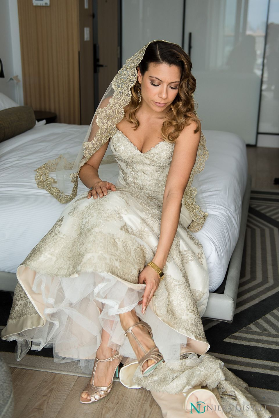 mymoon restaurant brooklyn intimate wedding hair & makeup by she