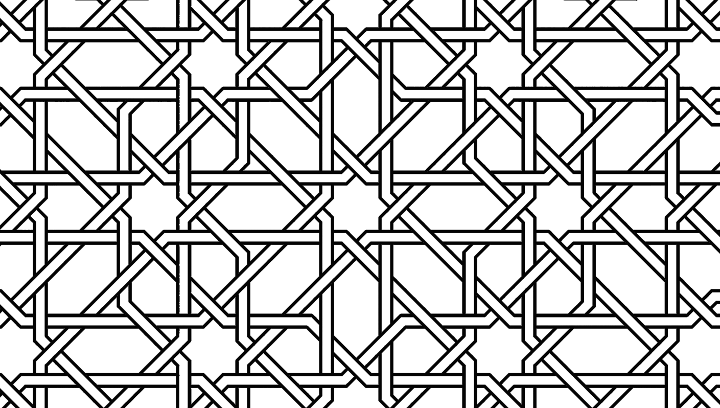 easy geometric design coloring pages - photo#41