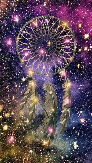Midnight Stardust dreamcatcher