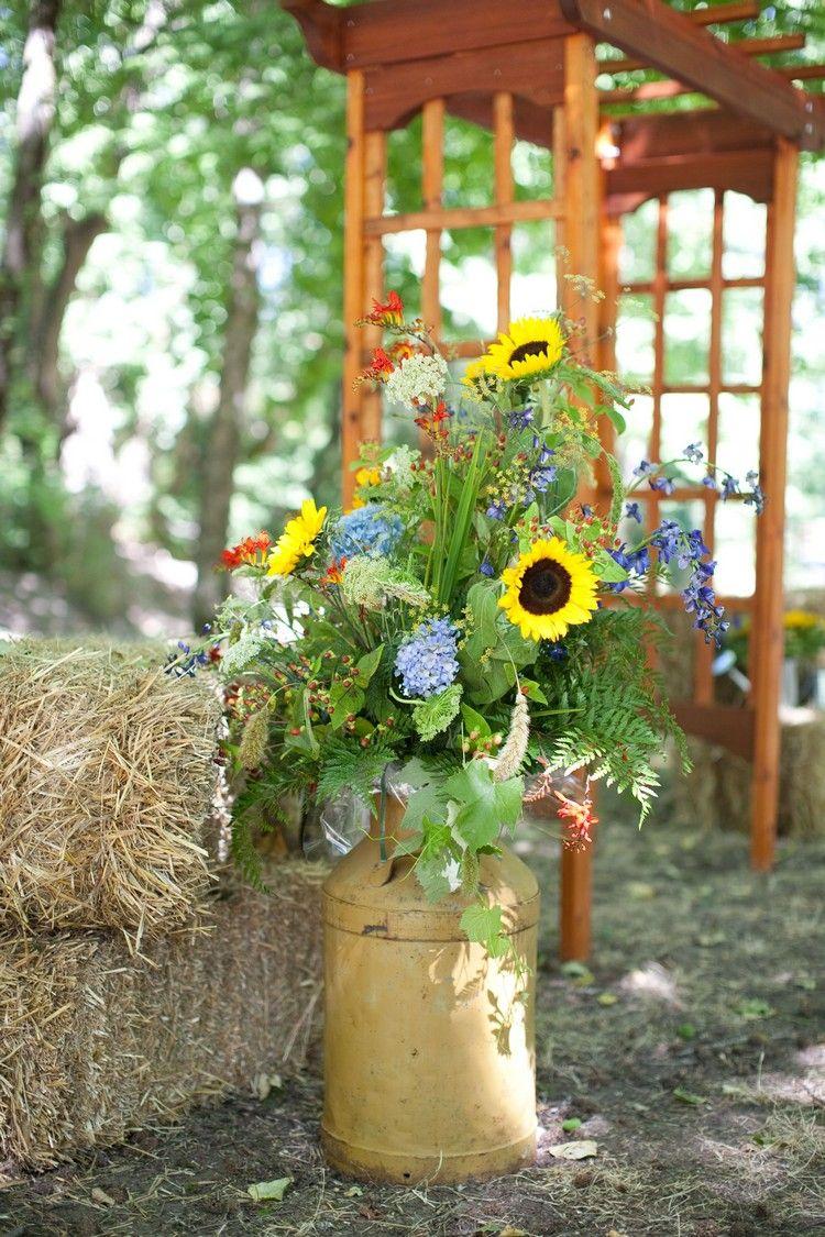 Photo of Sammeln Sie Inspiration für eine schöne Sommerdeko mit Sonnenblumen!