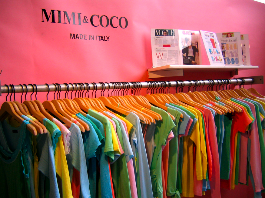 Mimi & Coco at Coterie NYC September 2004