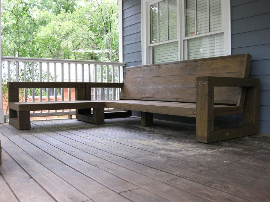 Wood 2x4 Outdoor Sofa Couch Free Plans Diy Simple Easy Cheap Strong Deck  Patio Backyard ANA WHITE.com | Outdoor Furniture Tutorials | Pinterest |  Outdoor ...