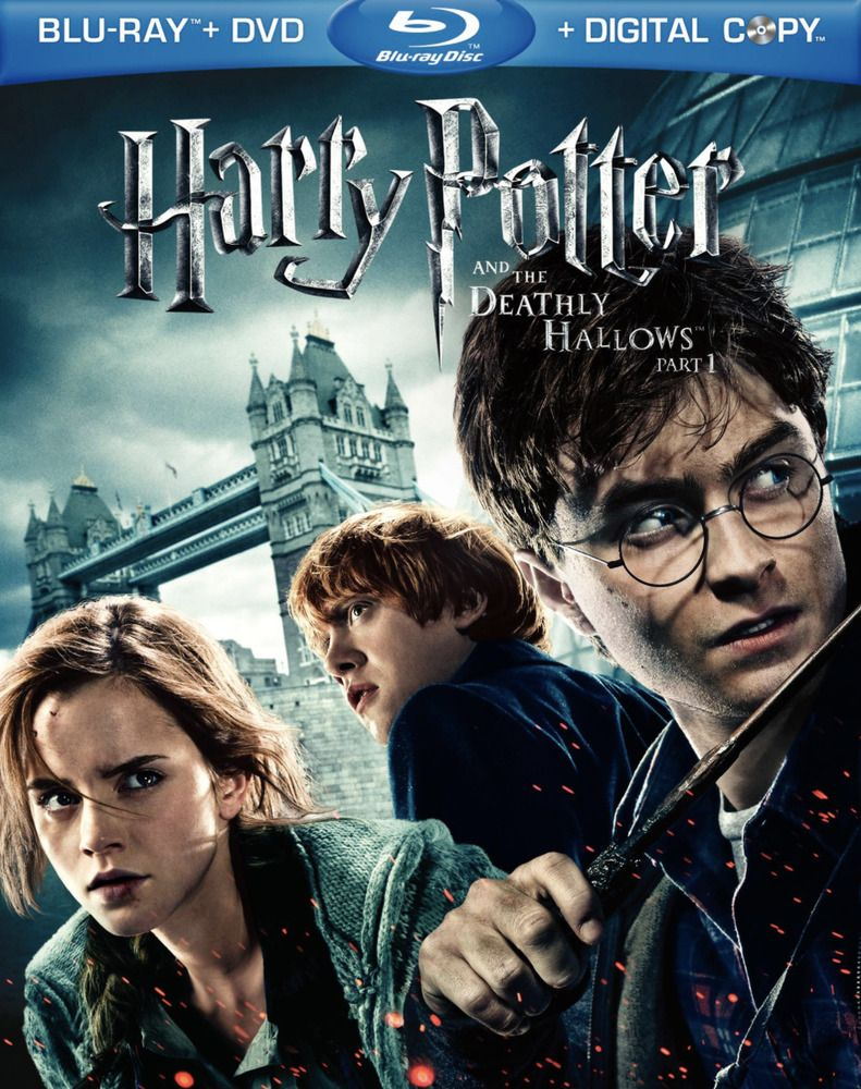 Harry Potter And The Deathly Hallows Part I Blu Ray Disc Includes Slipcover Ebay Deathly Hallows Part 1 Harry Potter Movies Deathly Hallows Part 2