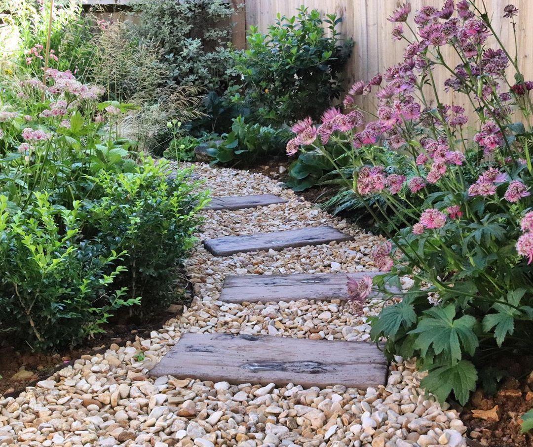 "Ali on Instagram: ""Garden path . . . . . #garden #gardenlife #nature #gardenlove #wildlifegarden #gardener #gardenflowers #inmygarden #instagardeners…"""