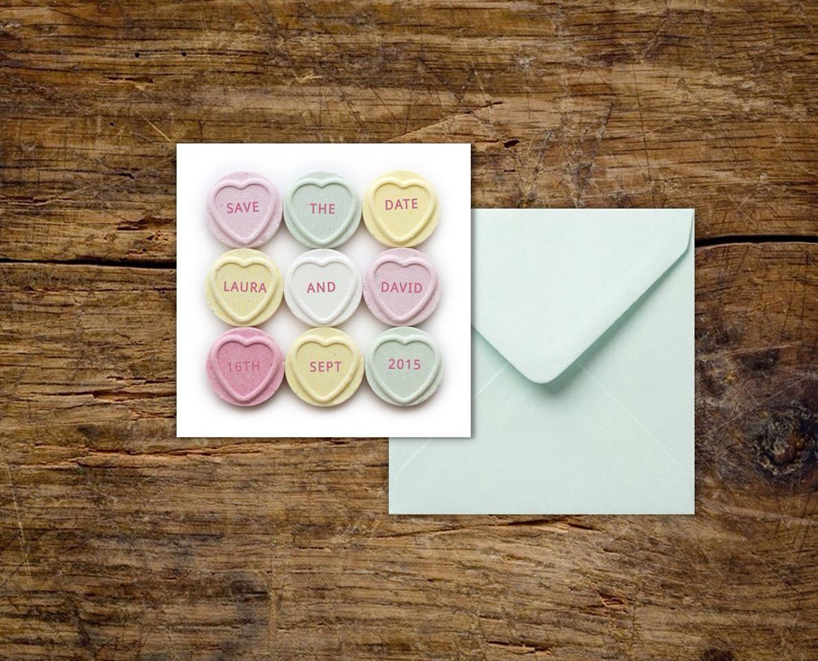 Heart Wedding Invitations Uk