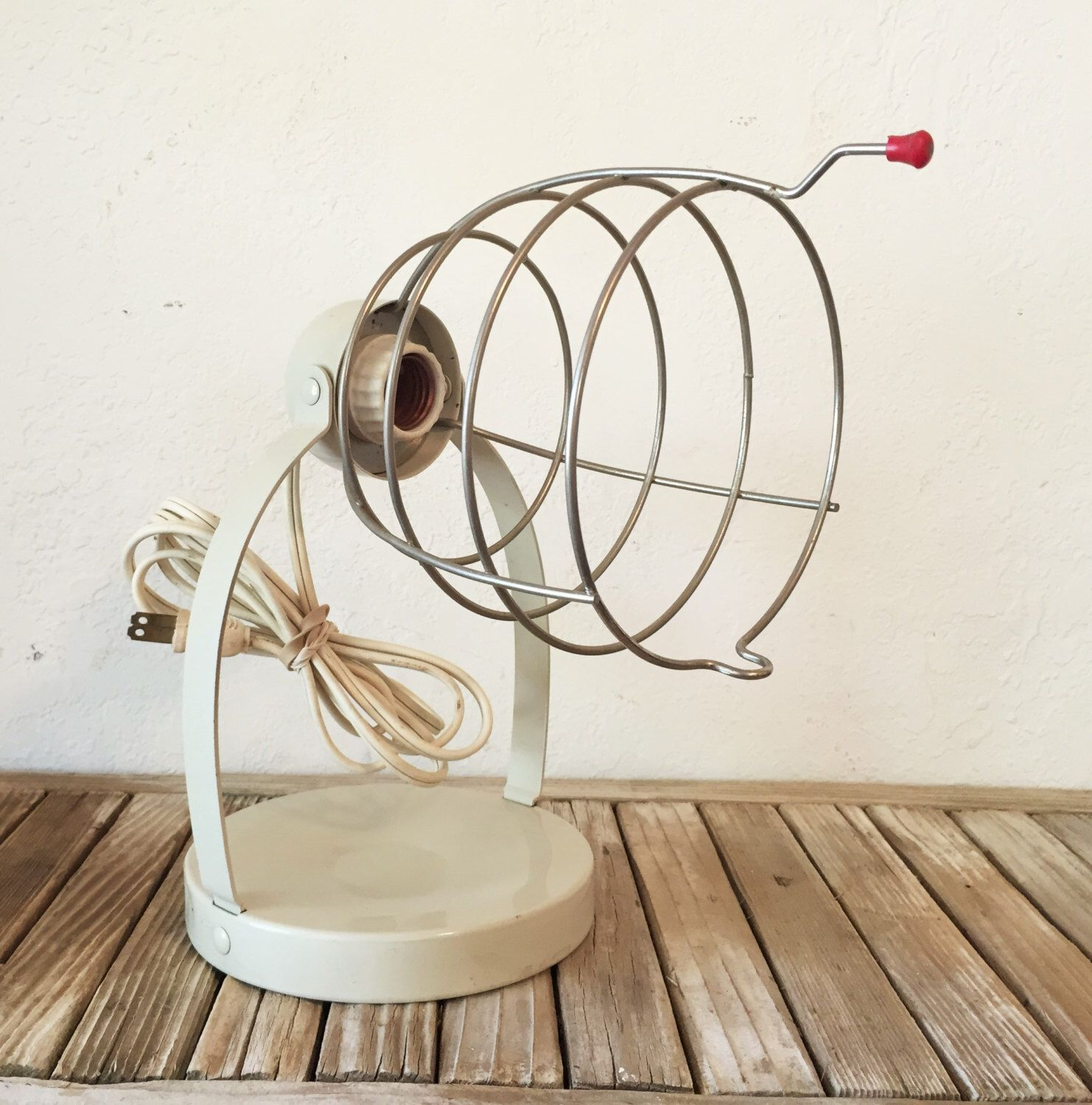 Industrial Bretford Wire Cage Light Fixture by NostalgicNuance on ...